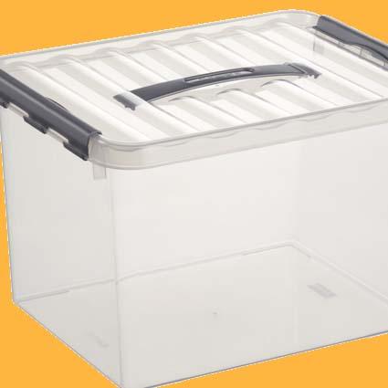 plastic box leeg