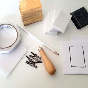 materialen voor het maken van stempels